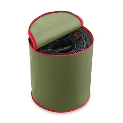 Real Simple 3 Reel Light Spools with Storage Bag in Green/Red