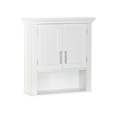 RiverRidge Somerset Collection Two-Door Wall Cabinet, White