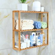 Bathroom Shelf 3-Tier Multifunctional Adjustable Layer Rack