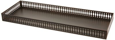 Taymor Oil Rubbed Bronze Large Vanity Tray