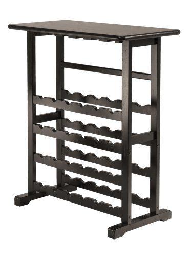 Winsome Wood 92023-WW Vinny Wine Storage Espresso