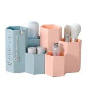 Office Organizer Box Makeup Cosmetic Holder Make Up Tools Storage Boxes Brush Stationery Case Jewelry Display Rack Organization