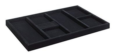 ClosetMaid 8920 SuiteSymphony Jewelry Tray Insert, Black