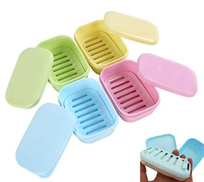Removable Soap Drainers Plastic Soap Holder Container Soap Saver Box