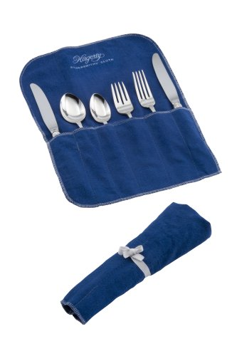 Hagerty 6-Piece Place Setting Roll, Blue