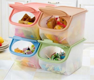 Large Capacity Rice Storage Box Grain Storage Container Food Storage Cereal Container Kitchen Storage Container Measuring Cup