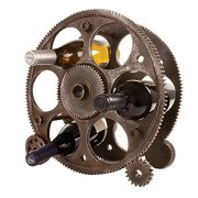 Foster & Rye 2755 Gears And Wheels Wine Rack Multicolor