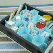 2016 Drawer Divider Storage Bra Box Makeup Organizer Closet Necktie Underwear Socks Home Storage Container Home Storage Box