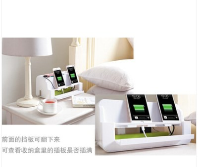 New Arrival Home Storage Box Bed Storage for Phone Wire Management beside Bedding
