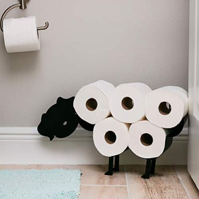 East World Dog Toilet Paper Holder Free Standing and Wall Mount