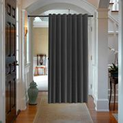 Premium Room Divider Rods 150 inches (12 ft) Extra Long and Heavy Duty