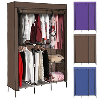 Korie Clothes Closet Portable Wardrobe Closet Organizer Storage