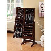 BTEXPERT Jewelry Makeup Organizer Frame Stand
