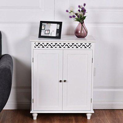 WATERJOY Storage Cabinet, Wooden Bathroom Cabinet
