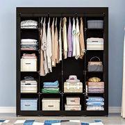 AOOU Closet Organizer Wardrobe Closet Portable Closet