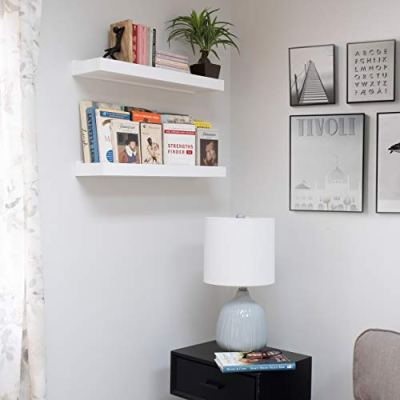 Wallniture Modern Floating Shelf Tray Wall Mount Home Decor