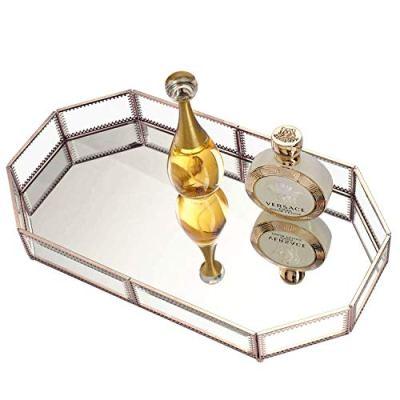 Hersoo Large Classic Vanity Tray/Ornate Decorative Perfume/Elegant