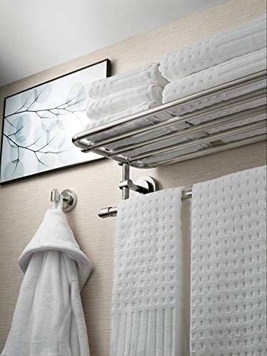 Moen Iso Collection 24-Inch Wide Bathroom Hotel-Style Shelf