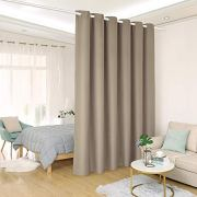 ALLZONE Room Divider Tension Curtain Rod, 83-120 inch