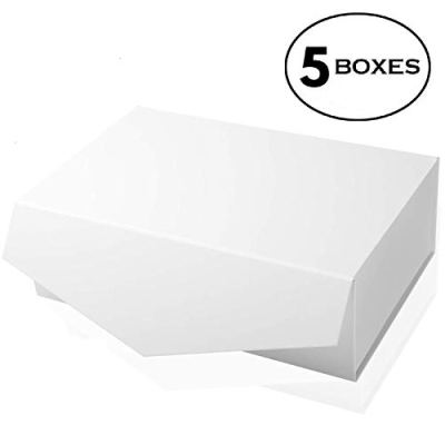 [Yeden] Large Gift Box   5 Luxury Boxes   Collapsible Magnetic Closure