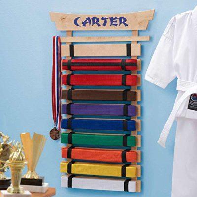 DIBSIES Personalization Station Personalized Karate Belt Display
