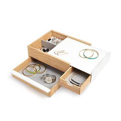 Umbra Stowit Jewelry Box - Modern Keepsake Storage Organizer