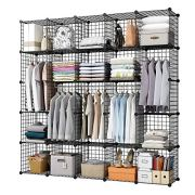 KOUSI Wire Storage Cubes Modular Metal Cubbies Organizer