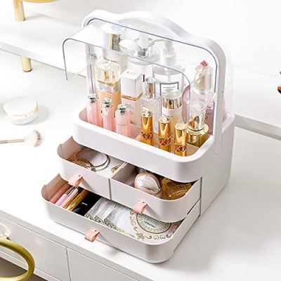 Large Dustproof Cosmetic Makeup Organizer