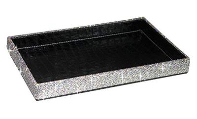 BestblingBling Classic Bling Rhinestone Jewelry or Makeup Storage Box