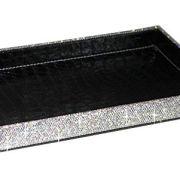 BestblingBling Classic Bling Rhinestone Jewelry or Makeup Storage Box