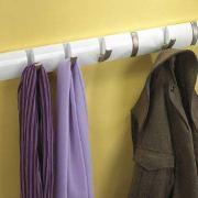 Umbra Flip 8-Hook Wall Mounted Floating Coat Rack