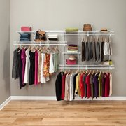 ClosetMaid ShelfTrack 7Ft. To 10Ft. Adjustable Closet Organizer Kit