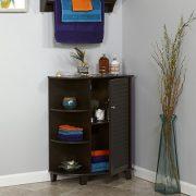 RiverRidge Ellsworth Collection Floor Cabinet with Side Shelves