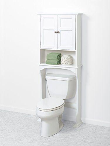 Zenna Home, Collette Bathroom Spacesaver, White