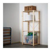 "Ikea Shelf unit, softwood 30 3/4x19 5/8x67 3/8 """