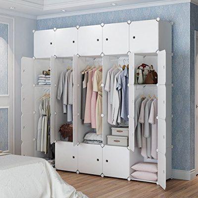 MAGINELS Closet Wardrobe Armoire Cube Storage Organizer
