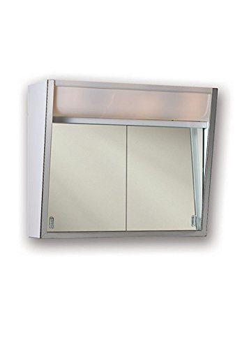Jensen Lighted 2-Sliding Doors Medicine Cabinet