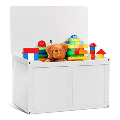 Costzon Toy Storage Chest Organizer, Wooden Toy Box
