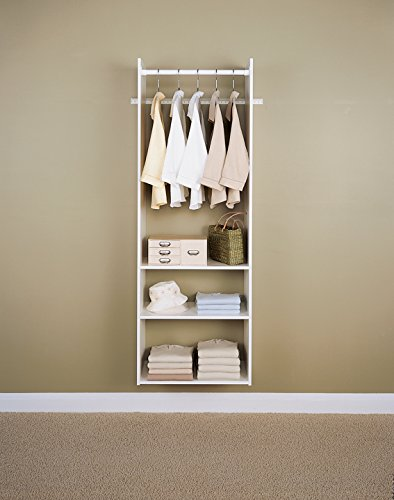 Easy Track Hanging Tower Kit Closet Storage, 72 inch