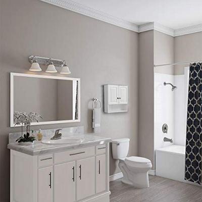 Design House Wyndham White Semi-Gloss Bathroom Wall Cabinet
