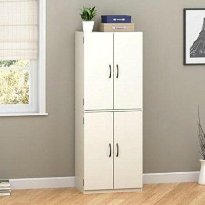 Mainstays Tall Storage Cabinet, 4 Door