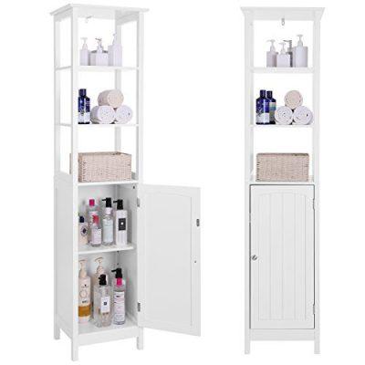 VASAGLE Floor Cabinet, Multifunctional Bathroom Storage Cabinet