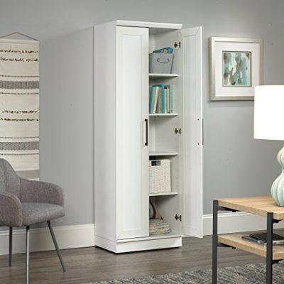 """Sauder HomePlus Storage Cabinet, L: 23.31"""" x W: 17.01"""" x H: 70.91"""""""