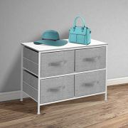 Sorbus Dresser with 4 Drawers - Furniture Storage Tower Unit for Bedroom