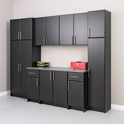 "Prepac Elite Storage Cabinet 32"" Wall, Black"