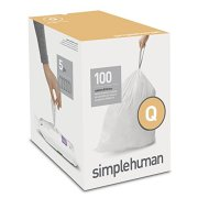 simplehuman Code Q Custom Fit Drawstring Trash Bags