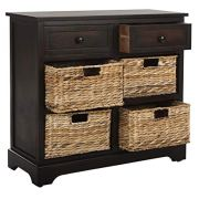 Safavieh American Homes Collection Herman Brown Wicker Basket
