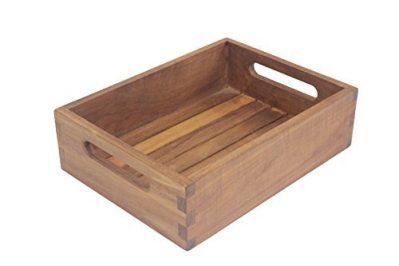 AquaTeak The Original Moa Teak Small Storage Tray