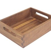 AquaTeak The Original Moa Teak Small Storage Tray