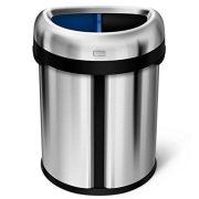 simplehuman 66 Liter / 17.4 Gallon Dual Compartment Recycler